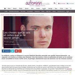 Le sexisme vu par Baptiste Beaulieu
