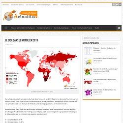 Le Sida dans le monde en 2013