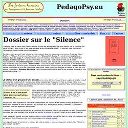Le silence en pédagogie