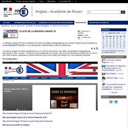Le site de la mission langue 76