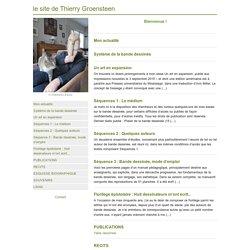 le site de Thierry Groensteen