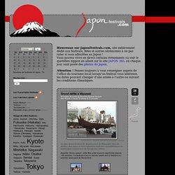 Le site des festivals aux Japon
