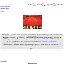 Le site de La Fontaine et Aractingi