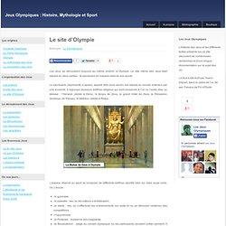 Le site d'Olympie