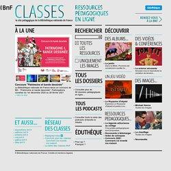 BNF Classe / Le site pédagogique