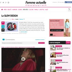 Le SLOW DESIGN - par besnob