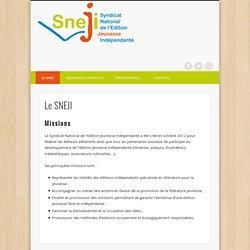 Le SNEJI (Syndicat National de l'Edition Jeunesse Indépendante)