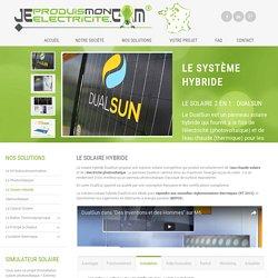 Le Solaire Hybride : DualSun