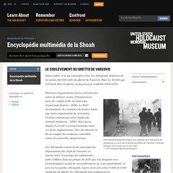 Le soulèvement du ghetto de Varsovie