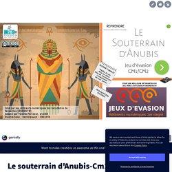 Le souterrain d'Anubis-Cm1Cm2