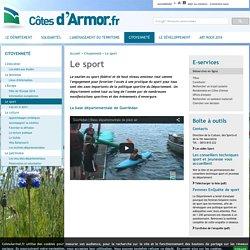 Politique sportive du Département des Côtes d'Armor