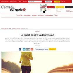 Le sport contre la dépression