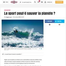 Le sport peut-il sauver la planète?
