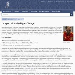 Le sport et la stratégie d'image