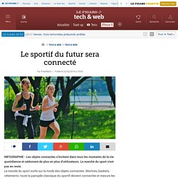 Le sportif du futur sera connecté