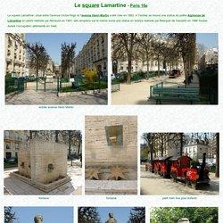 Le square Lamartine à Paris