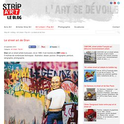 Le street art de Dran - sur Strip Art le Blog
