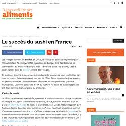 Le succès du sushi en France
