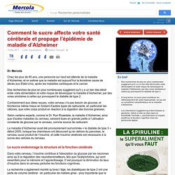 Le sucre et votre santé cérébrale