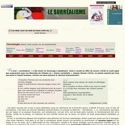 LE SURRÉALISME. Magister