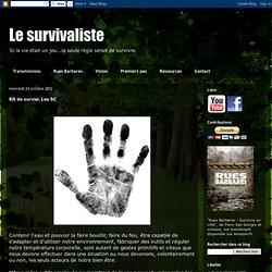 Kit de survie: Les 5C