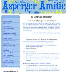 Le Syndrome d'Asperger - Asperger Amitié