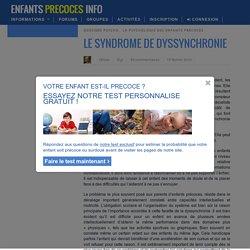 Le syndrome de dyssynchronie