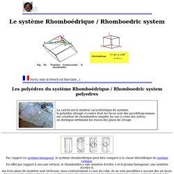 LE SYSTEME RHOMBOEDRIQUE