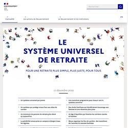 Le système universel de retraite