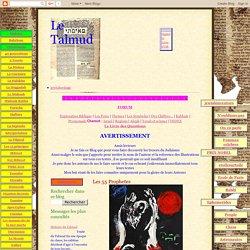 Le Talmud: Les 55 Prophetes