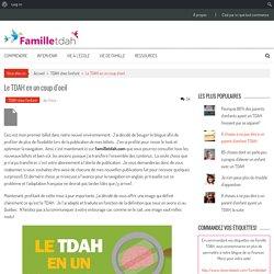 TDAH - Infographie