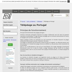 Le télépéage au Portugal