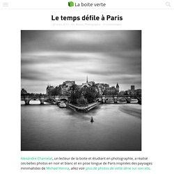 Le temps défile à Paris