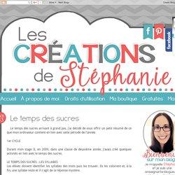 Les créations de Stéphanie: Le temps des sucres