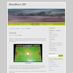Le Terrain - BloodBowl JDP