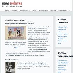 Le théâtre du XXe siècle - Libre Théâtre