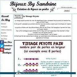 Le Tissage Peyote