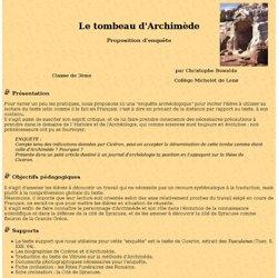 Le tombeau d'Archimède - enquête