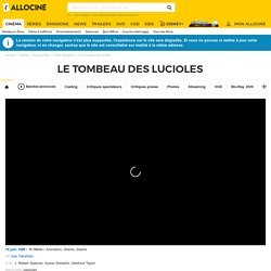 Le Tombeau des lucioles - film 1988