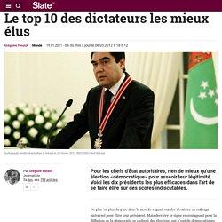 Le top 10 des dictateurs les mieux élus du monde