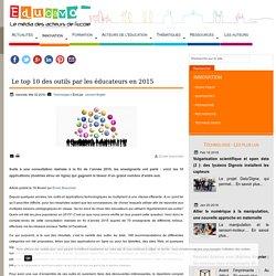 Le top 10 des outils par les éducateurs en 2015