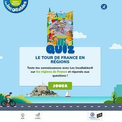 Le Tour de France en régions