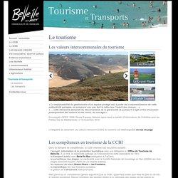 Le tourisme à Belle-Île