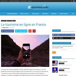 CHIFFRES : Le tourisme en ligne en France
