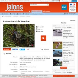 Le tourisme à la Réunion