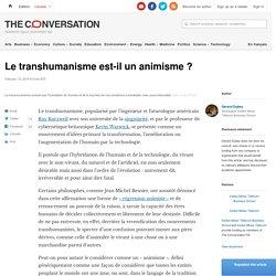 Le transhumanisme est-il unanimisme?
