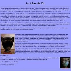 Le trésor de Vix