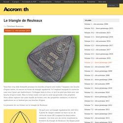 Le triangle de Reuleaux