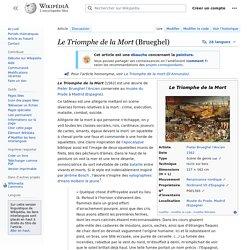 Le Triomphe de la Mort (Brueghel)