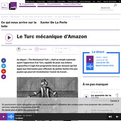 Le Turc mécanique d'Amazon